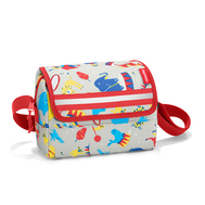 Детская сумка Reisenthel Everydaybag kids Circus red, серая, 20х14.5х10см - арт.IF3063, фото 1