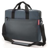 Сумка для ноутбука Reisenthel Workbag Canvas, синяя, 42.5х33х12см - арт.US4061, фото 1