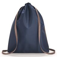 Складной рюкзак Reisenthel Mini maxi Sacpack, синий, 35.5х45.7х5.5см - арт.AU4059, фото 1