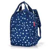 Сумка-рюкзак Reisenthel Easyfitbag, синий в крапинку, 27.5х40.5х14.5см - арт.JU4044, фото 1