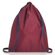 Складной рюкзак Reisenthel Mini maxi Sacpack, бордовый, 35.5х45.7х5.5см - арт.AU3035, фото 1