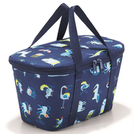 Термосумка детская Reisenthel Coolerbag XS ABC friends, синяя, 27,5 х 15,5 х 12см - арт.UF4066, фото 1