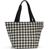 Сумка-шоппер Reisenthel Shopper M, чёрно-белая клетка, 51x30.5x26см - арт.ZS7028, фото 1