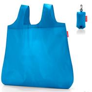 Сумка хозяйственная складная Reisenthel Mini maxi pocket, голубая, 45.5х53.5х0.2см - арт.AO4054, фото 1