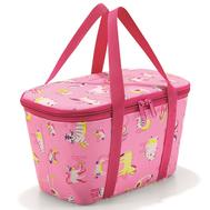 Термосумка детская Reisenthel Coolerbag XS ABC friends, розовая, 27,5 х 15,5 х 12см - арт.UF3066, фото 1