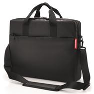 Сумка для ноутбука Reisenthel Workbag Canvas, чёрная, 42.5х33х12см - арт.US7047, фото 1