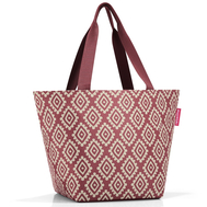 Сумка-шоппер Reisenthel Shopper M, diamonds rouge, 51x30.5x26см - арт.ZS3065, фото 1