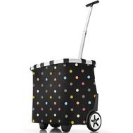 Сумка-тележка Reisenthel Carrycruiser, чёрная в цветной горох, 42х47.5х32см - арт.OE7009, фото 1