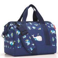 Детская сумка Reisenthel Allrounder M ABC friends, синяя, 41.6х46.6х24.5см - арт.IX4066, фото 1