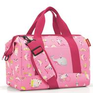 Детская сумка Reisenthel Allrounder M ABC friends, розовая, 40см - арт.IX3066, фото 1
