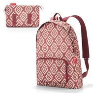Складной рюкзак Reisenthel Mini maxi, красный, 29.3х47х15см - арт.AP3065, фото 1