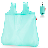 Сумка хозяйственная складная Reisenthel Mini maxi pocket, голубая, 45.5х53.5х0.2см - арт.AO4056, фото 1