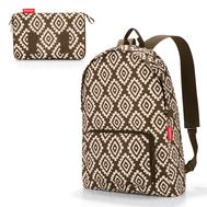 Складной рюкзак Reisenthel Mini maxi, коричневый, 29.3х47х15см - арт.AP6039, фото 1