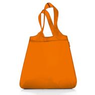 Сумка хозяйственная складная Reisenthel Mini maxi shopper, оранжевая, 43.5х65х6см - арт.AT00021, фото 1