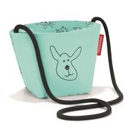 Детская сумка Reisenthel Minibag Cats and dogs, мятная - арт.IV4062, фото 1