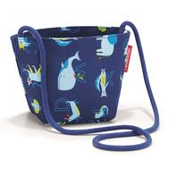 Детская сумка Reisenthel Minibag ABC friends, синяя - арт.IV4066, фото 1