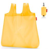 Сумка складная хозяйственная Reisenthel Mini maxi pocket, жёлтая, 45.5х53.5х0.2см - арт.AO2023, фото 1
