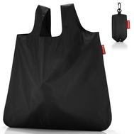 Сумка складная хозяйственная Reisenthel Mini maxi pocket, чёрная, 45.5 х 53.5 х 0.2 - арт.AO7003, фото 1