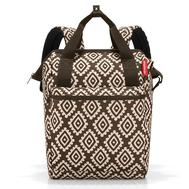 Сумка-рюкзак Reisenthel Allrounder R, коричневый, 26х45.3х14.5см - арт.JR6039, фото 1