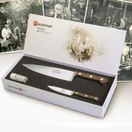 Набор ножей для кухни Wusthof Promotion, 2шт, кованая нержавеющая сталь, Золинген, Германия - арт.1814-200, фото 1