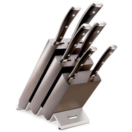 Набор ножей 6 предметов Wusthof Ikon, подставка из бука, кованая нержавеющая сталь, Золинген, Германия - арт.9866 WUS, фото 1