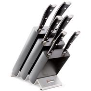 Набор ножей 6 предметов Wusthof Classic Ikon, подставка из бука, кованая нержавеющая сталь, Золинген, Германия - арт.9876 WUS, фото 1