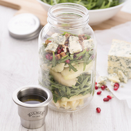 Банка с соусником Kilner Food On The Go, 1л - арт.K_0025.791V, фото 1
