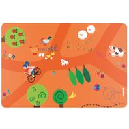 Коврик на стол Guzzini On the Road, детский, оранжевый, 43.5х29.7см - арт.22606752OR, фото 1