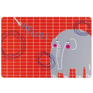 Коврик на стол Guzzini Hello, детский, Слон, 43.5х29.7см - арт.22606652E, фото 1