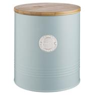 Банка для печенья Typhoon Living, голубая, 3.4л 18см - арт.1401.741V, фото 1