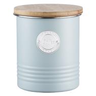 Банка для сыпучих продуктов Typhoon Living, Кофе, голубая, 1л 13.5см - арт.1400.971V, фото 1