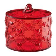 Контейнер для хранения Guzzini Love, красный, 15.7см - арт.11530065, фото 1