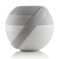 Ланч-бокс Guzzini Zero, серый, 16.8х14.4х16.8см - арт.100100162, фото 1