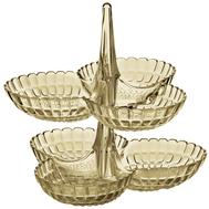 Менажницы Guzzini Tiffany, бежевые, 27х25.5х25см - 2шт - арт.19920139, фото 1