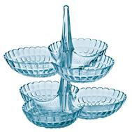 Менажницы Guzzini Tiffany, голубые, 27х25.5х25см - 2шт - арт.19920181, фото 1