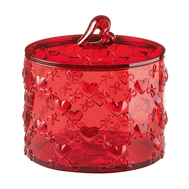 Контейнер для хранения Guzzini Love, красный, 11см - арт.11520065, фото 1