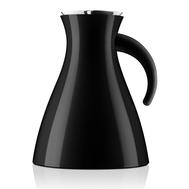 Термокувшин Eva Solo Vacuum, низкий, чёрный, 1л - арт.502941, фото 1