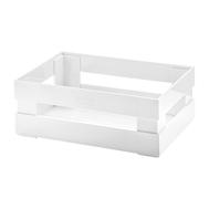 Ящик для хранения Guzzini Tidy & Store, белый, 22.4х8.7х5.4см - арт.16930011, фото 1