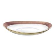 Блюдо глубокое Rosegold Eisch Gold Rush, прозрачное/розовое золото, 40 см - арт.74453440, фото 1