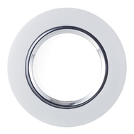 Блюдо круглое Silber Eisch Colombo, белое/серебро, 35 см - арт.75251635, фото 1