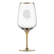 Бокал для красного вина Gold Eisch Silas, прозрачный/золото, 655 мл - арт.76155000, фото 1