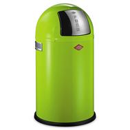 Ведро для мусора Wesco Pushboy, с заслонкой, зеленое, 22 л - арт.175531-20, фото 1