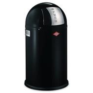 Ведро для мусора Wesco Pushboy, с заслонкой, черное, 22 л - арт.175531-62, фото 1