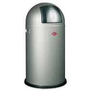 Ведро для мусора Wesco Pushboy, с заслонкой, металлик, 50 л - арт.175831-03, фото 1