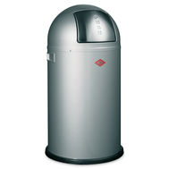 Ведро для мусора Wesco Pushboy, с заслонкой, графитовое, 50 л - арт.175831-13, фото 1