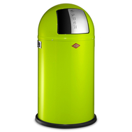 Ведро для мусора Wesco Pushboy, с заслонкой, зеленое, 50 л - арт.175831-20, фото 1