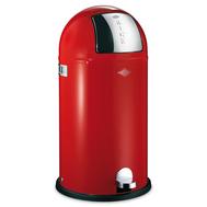 Ведро для мусора Wesco Kickboy, с заслонкой, красное, 40 л - арт.177731-02, фото 1