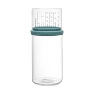 Банка для сыпучих продуктов Brabantia, с мерным стаканом, мятная, 1 л - арт.290244, фото 1