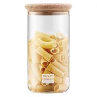 Банка для сыпучих продуктов Bodum Yohki, прозрачная, 2 л - арт.8650-109-2, фото 1