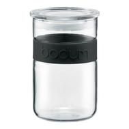 Банка для сыпучих продуктов Bodum Presso, черная, 0.6л - арт.11129-01, фото 1